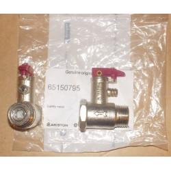 65150795 Клапан предохранительный (с флажком)  для водонагревателей  Ariston