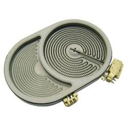 3890808250 Элемент нагревательный (конфорка) D170X265 230V 2400/1500W к электрическим варочным поверхностям Electrolux
